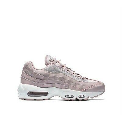 Wmns Nike Air Max 95 SE Particle Rose UK 7.5 EUR 42 Rose White Glitter AT008 600