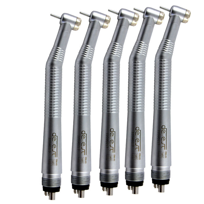 10pcs NSK Style High Speed Dental Handpiece Kit Push Button Needle 4 Hole1 Spray