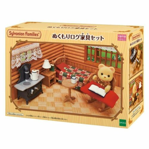 Sylvanian Families Warmth log furniture set EPOCH Calico Critters Japan Import