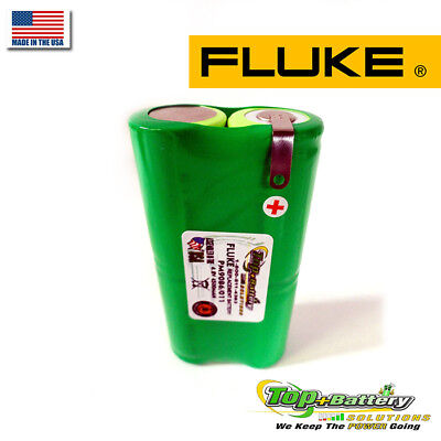 Brand New Fluke Meter Pm9086 011 Nicd 4.8v. 4500mah Battery Replacement 16v Usa