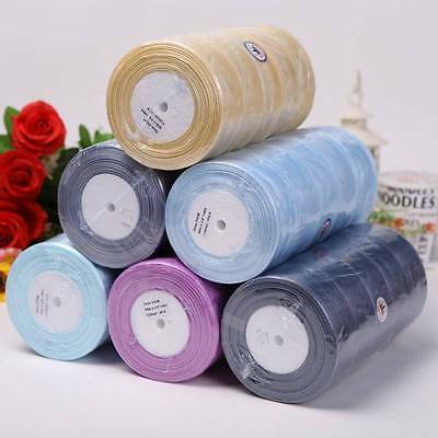 Sheer Woven Edge Organza Ribbon - 50 yards - widths of 6, 12, 25 and 38 mm