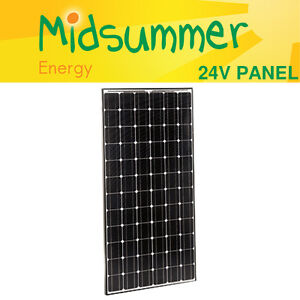 High Efficiency Panasonic HiT 240W Black Mono Solar PV Panel - 25 yr warranty