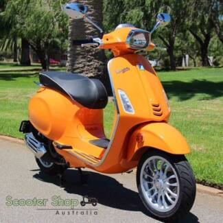 VESPA SPRINT IGET ABS! LOW FINANCE AVAILABLE! SAME DAY RIDE AWAY