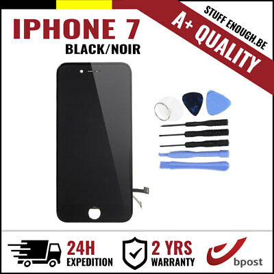 A+ LCD TOUCH SCREEN DIGITIZER DISPLAY SCHERM ÉCRAN BLACK NOIR+TOOLS FOR IPHONE 7