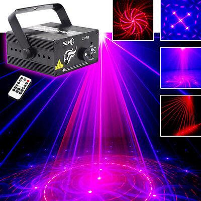 Suny 18 patterns 300mw Laser BLUE LED Stage Z18RB DJ Xmas Party show Light