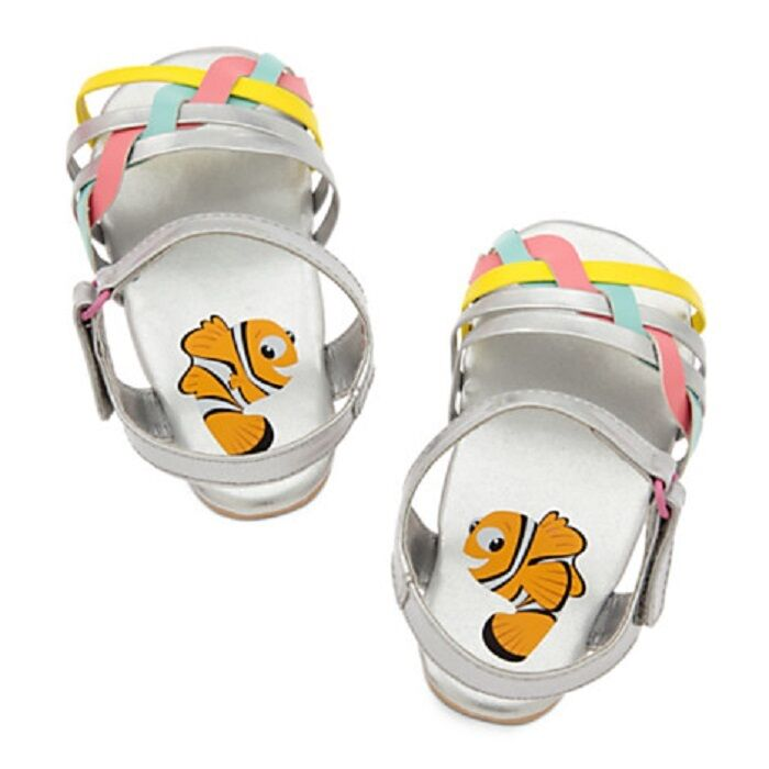 DISNEY STORE FINDING NEMO SANDALS FOR BABY GIRL FASHIONABLY FUN FOOTWEAR NWT 1
