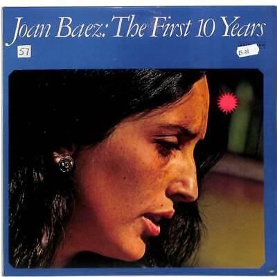 Joan Baez - The First 10 Years - Gatefold - Double LP Vinyl Record
