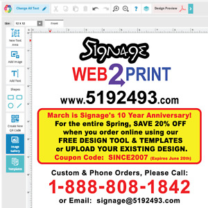 Signage - Save 20% OFF Printing, Signs, Stickers, Business Cards