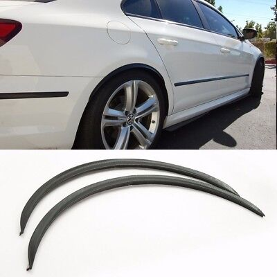 "1 Pair 13/"" Black Diffuser Fender Flares Lip For VW Wheel Wall Panel Bumper"