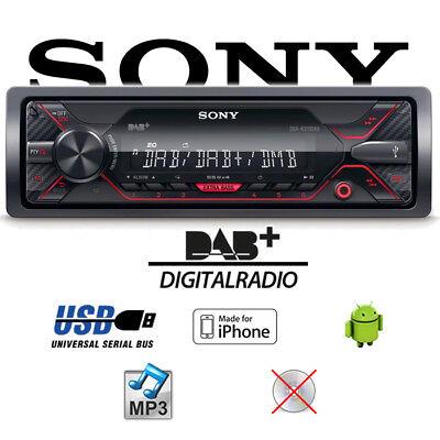 Sony DSX-A310DAB DAB+ MP3 USB Autoradio 4x55Watt 12V Auto Radio Android Apple (Radio Usb Mp3)