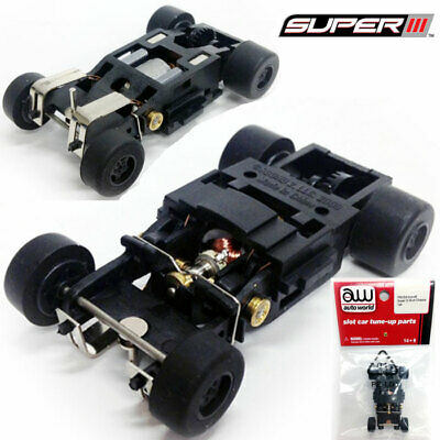 Auto World Super III Complete Chassis HO Scale Slot Car PSCS3-029
