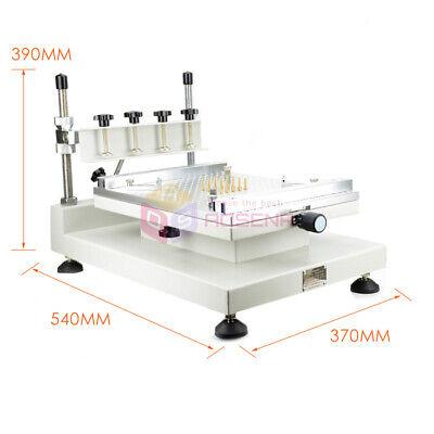 High Accuracy 3040 Solder Paste Printing Machine Pcb Smt Manual Stencil Printer