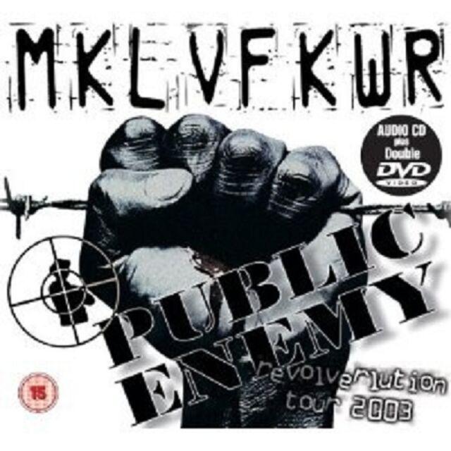 Public Enemy - The Revolverlution Tour 2003  CD + DVD Video HIPHOP RAP Neuware