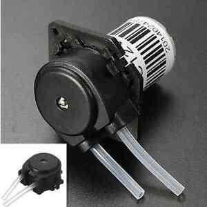 12V Schlauchpumpe Dosierpumpe Peristaltikpumpe Wasser Pumpe Silikonschlauch TOP