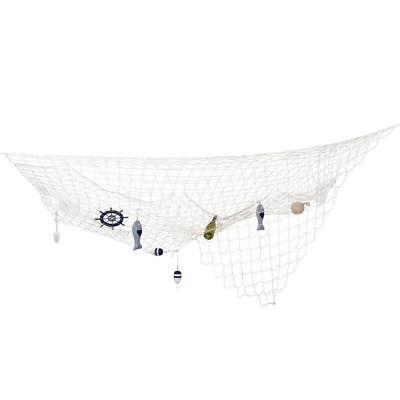 Fischernetz Kostümzubehör Dekoration 3x3 m, Partydeko Raumdeko - Fischer Kostüm