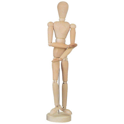 NEU Modellpuppe aus Holz, männlich, 30 cm