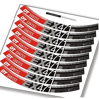 Mountain Bike Wheel Set Rim Replacement Sticker for DT SWISS EX471 Bicycle Decal