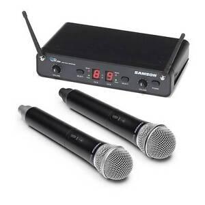 SALE! Samson Dual Wireless Microphone System Merrylands Parramatta Area Preview