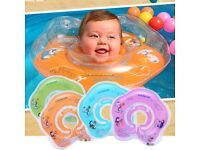 Swimming neck circle for new born. Used