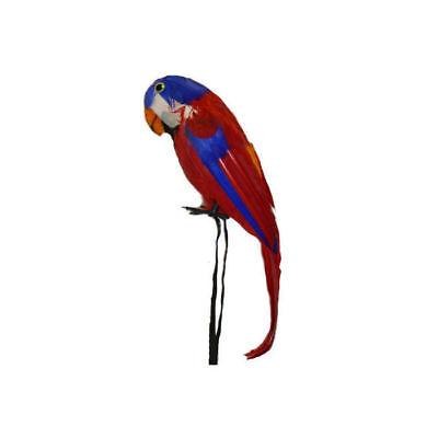 Papagei 40 cm, Kostümzubehör Dekoration Piratenkostüm Vogel Dekopapagei
