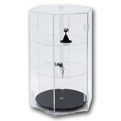 Counter Top Display Revolving Acrylic Display Showcase Display Rotating Case