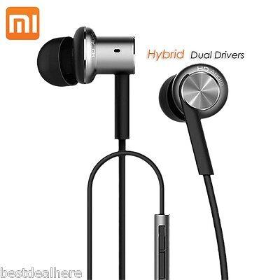 Original Xiaomi Hybrid Dual Drivers Earphones Mi IV In-Ear 3.5mm Headphones Pro