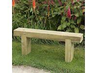 Forest Sleeper Bench 1.8m.... Make an offer