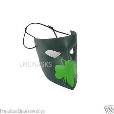 The Green Hornet Year One Leather Mask Dynamite Comic Cosplay Kato Halloween Men - Kato Mask