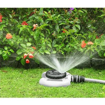 8 Sprinkler (VBChome® 8-Funktionen Rasensprenger Sprinkler Regner 20cm WHITE LINE grau WL-Z15)