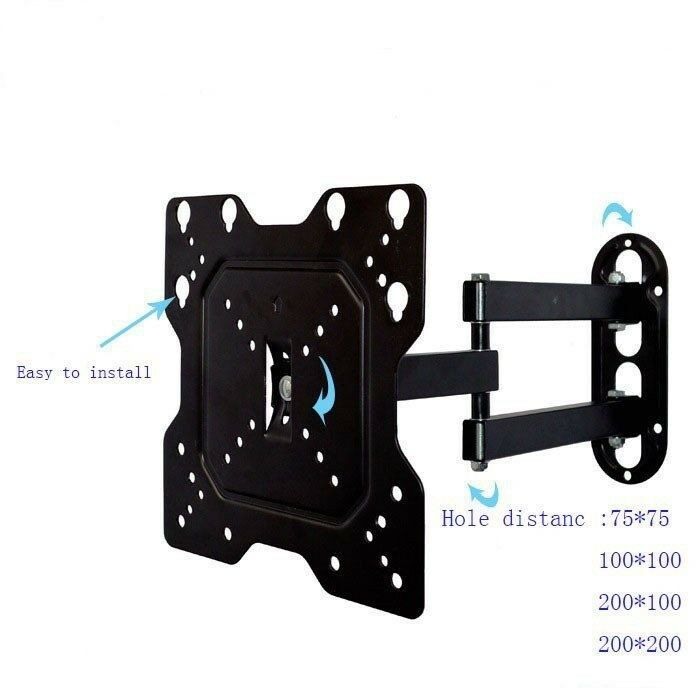 "Cantilever Swivel Tilt Wall Mount Bracket 14"" 16 24 32 38 40 42 Inch LED TV LCD Plasma VESA, BNIB"