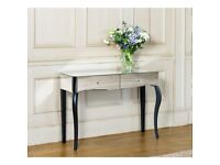 New Mirrored dressing table with 2 drawers