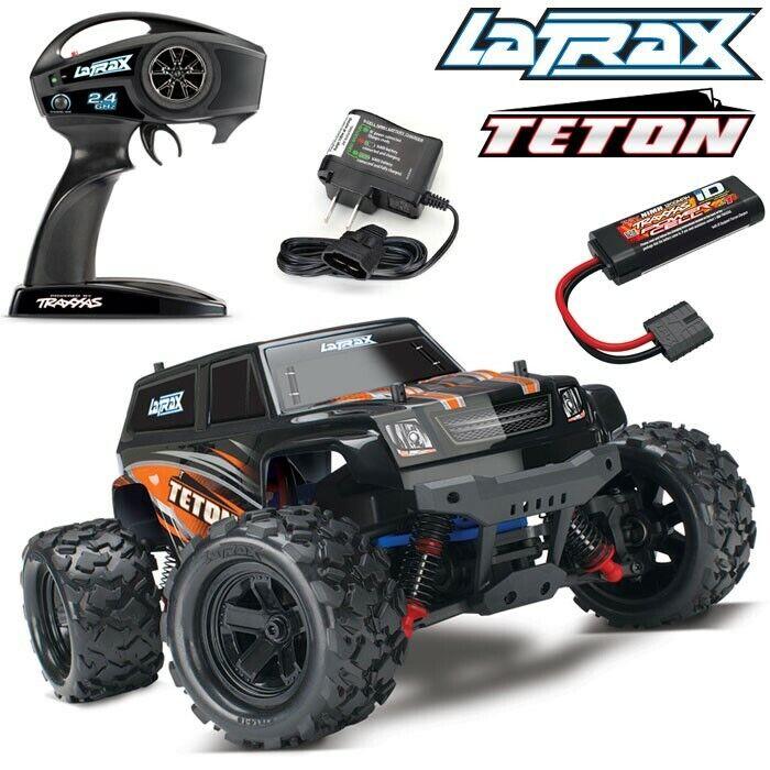 Traxxas 76054-5 1/18 LaTrax Teton Monster Truck RTE w/ Batte