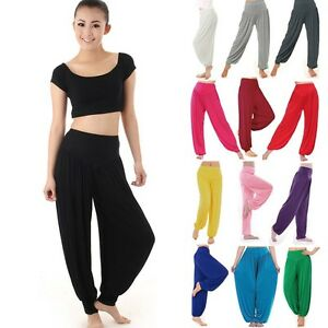 Harem-Genie-Yoga-Pants-Aladdin-Hippie-Baggy-Jumpsuit-Free-Shipping