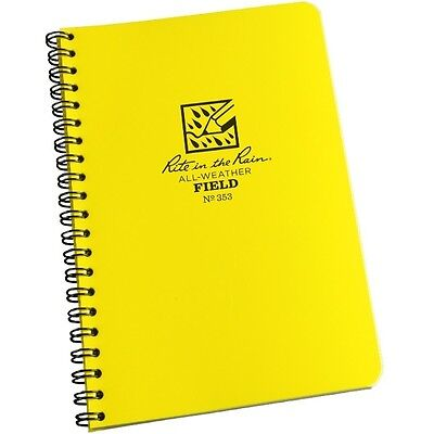 Rite In The Rain 353 All-weather Field Spiral Notebook 4 58 X 7