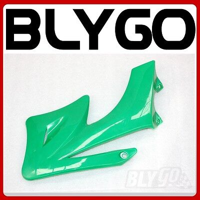 GREEN Plastic Front RIGHT Tank Side Guard Fender APOLLO ORION 250 PIT Dirt Bike