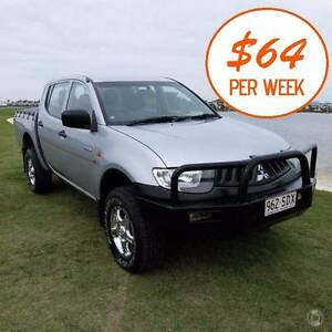 **$64 per week** 2007 Mitsubishi Triton VR 4x4 Merrimac Gold Coast City Preview