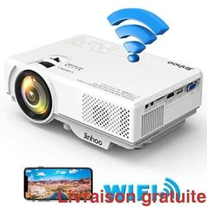Projecteur video 2400 lumen / WiFi Mini Projector 1080P Supported