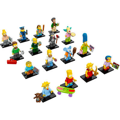 Lego 71005 Simpsons Series 1 Minifigures YOU CHOOSE YOUR MINIFIGURE