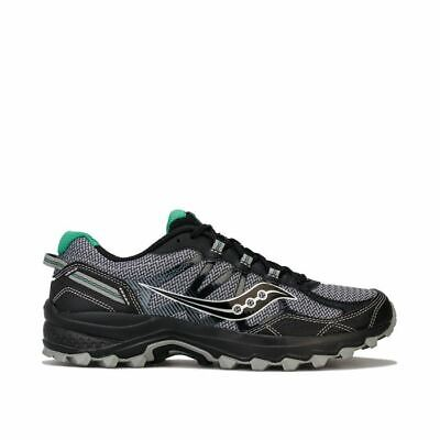 Men's Saucony Excursion Trail Running Trainers in Black