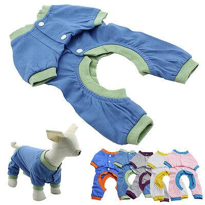 2015 Small Dog Pajamas Pet Clothes Puppy Coat Cat Jumpsuit Pet Supplies Products