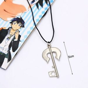 anime nisekoi silver key pendant necklace custome