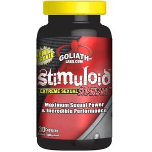 Goliath Labs STIMULOID (LAST LONGER IN BED), 60 Caps - DUREZ LONGTEMPS AU LIT!