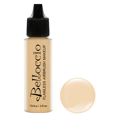 New Belloccio Pro Airbrush Makeup BUFF SHADE FOUNDATION Flawless Face -