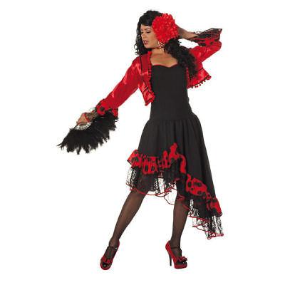 rin Carmen Flamencotänzerin Spanisches Kostüm Flamenco Kleid  (Spanische Tänzerin Kleid)
