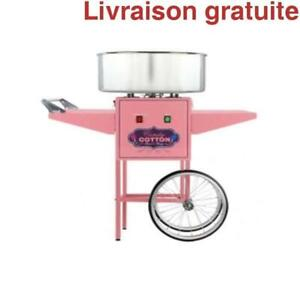 Barbe a Papa / Cotton Candy Machine with Cart