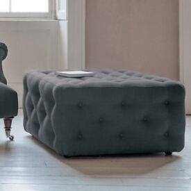 Brand new in box ottoman