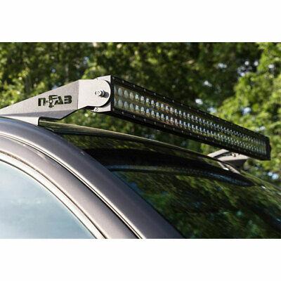 "N-Fab LED Roof Top Light Bar Mounts w/50"" Mount for Ram 1500/2500/3500 2009-2019"