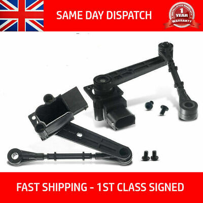 PAIR FITS DISCOVERY 3 &RANGE ROVER SPORT REAR RIGHT &LEFT AIR SUSPENSION SENSOR