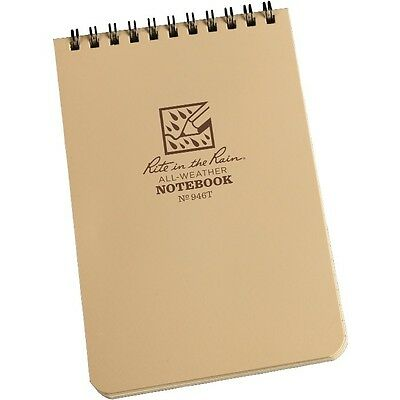 Rite In The Rain 946t All-weather Universal Spiral Notebook Tan 4 X 6
