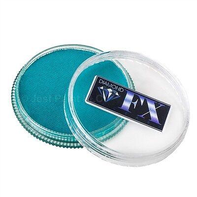 Diamond FX Face Paint Essential - Sea Green 32gr - Green Face Paint